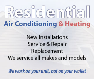 Residential Service, Repair, Installation and Replacement